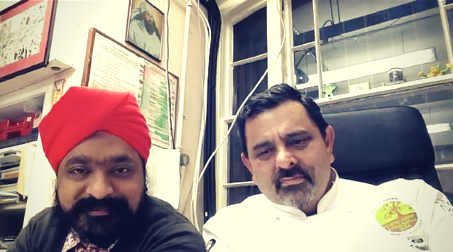 Tony Singh and Cyrus Todiwala of The Incredible Spice Men on The Dinner Special podcast talking about how they met.