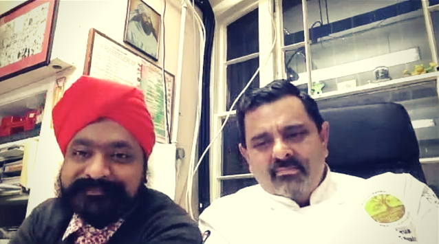 Tony Singh and Cyrus Todiwala of The Incredible Spice Men on The Dinner Special podcast talking about being cooks.