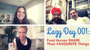 Lazy Day with Claire Thomas of The Kitchy Kitchen, The Incredible Spice Men, and Jordan Reid of Ramshackle Glam on The Dinner Special podcast share their favorite things