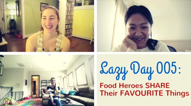 Sara Cornelius of Cake Over Steak, Karen Chan of HonestlyYUM, and Katy Atlas of Sugarlaws on The Dinner Special podcast share their favorite cookbooks, food blogs, and music they enjoy.