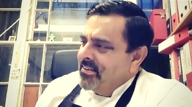Chef Cyrus Todiwala of Cafe Spice Namaste on The Dinner Special podcast talking about his line of condiments.