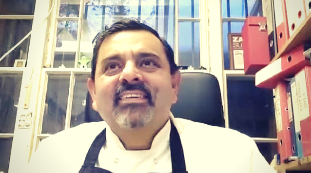 Chef Cyrus Todiwala of Cafe Spice Namaste on The Dinner Special podcast talking about his restaurants.