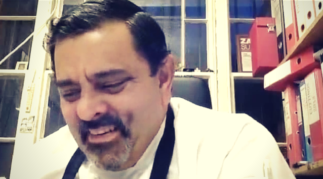 Chef Cyrus Todiwala of Cafe Spice Namaste on The Dinner Special podcast talking about the challenges of starting out as a chef in London.