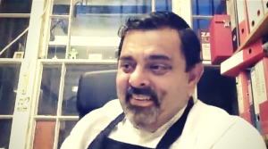 Chef Cyrus Todiwala on The Dinner Special podcast talking about how to keep posted with him.