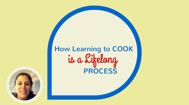 Cristina Sciarra of The Roaming Kitchen on The Dinner Special podcast talking about how learning to cook is a lifelong process.