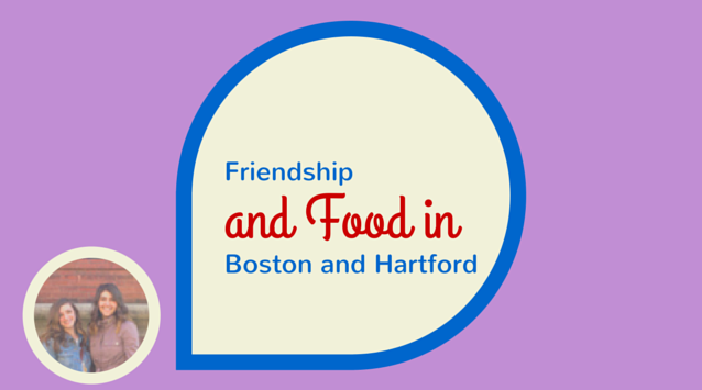 Christa Tubach and Regina Vecchione of Gardenias and Mint on The Dinner Special podcast talking about friendship and food in Boston and Hartford.