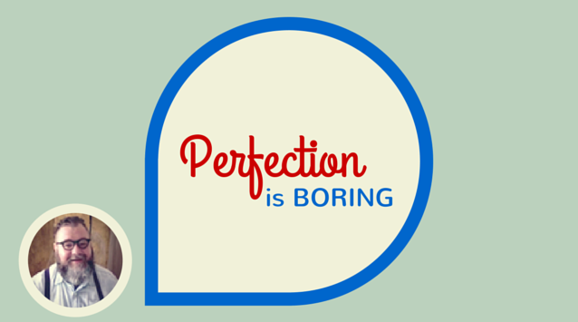 Paul Lowe of Sweet Paul magazine on The Dinner Special podcast talking about how perfection is boring.
