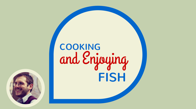 Brian Samuels of A Thought for Food on The Dinner Special podcast talking about cooking and enjoying fish.