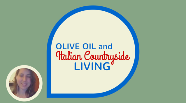 Valentina Solfrini of Hortus Cuisine on The Dinner Special podcast talking about olive oil and Italian countryside living.