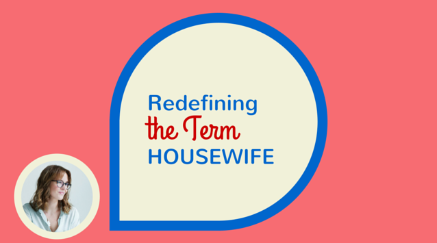 Katrín Björk of Modern Wifestyle on The Dinner Special podcast talking about reinventing the term housewife and taking pride in the art of homemaking.