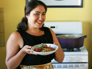 Samantha Ferraro on The Dinner Special podcast on how her family background influences the food she enjoys.