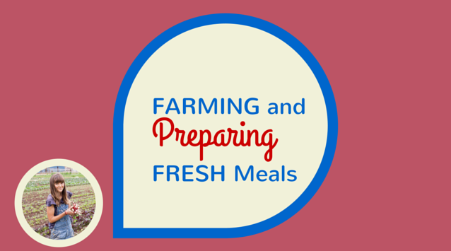Andrea Bemis of Dishing Up the Dirt on The Dinner Special podcast talking about farming and preparing fresh meals.