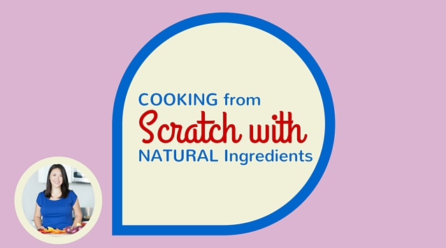 Joanne Ozug of Fifteen Spatulas on The Dinner Special podcast talking about cooking from scratch with natural ingredients.
