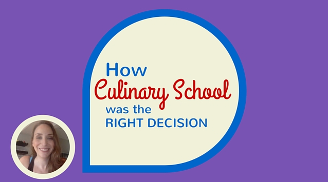 Jennifer Farley of Savory Simple on The Dinner Special podcast talking about how going to culinary school for her was the right decision.