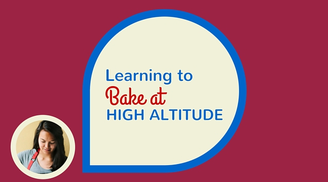 Michelle Lopez of Hummingbird High on The Dinner Special podcast talking about learning to bake at high altitude.