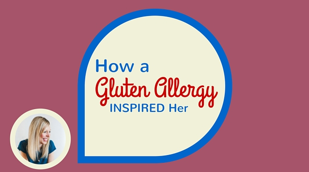 Amanda Paa of Heartbeet Kitchen on The Dinner Special podcast talking about how a gluten allergy inspired her.