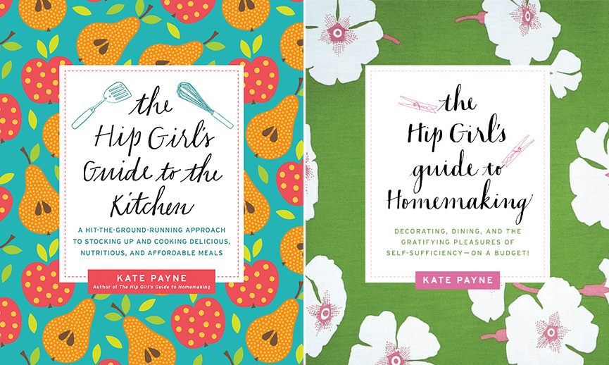 Kate Payne of Hip Girl's Guide to Homemaking on The Dinner Special podcast talking about her books on homemaking and the kitchen.