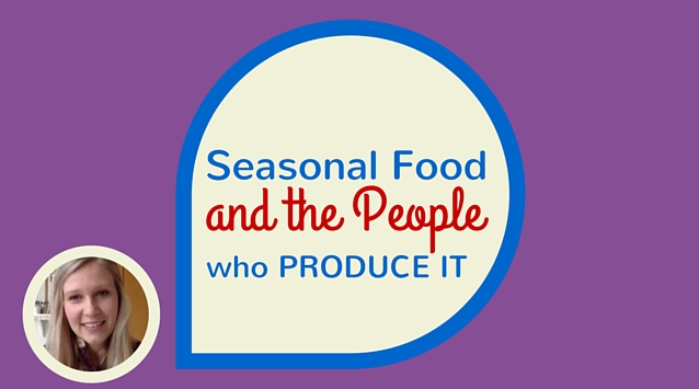 Alexa Arnold of The Best Bite of the Plum on The Dinner Special podcast talking about being driven by seasonal food and the people who produce it.