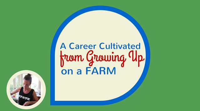 Posie Harwood of 600 Acres on The Dinner Special podcast talking about a career cultivated from growing up on a farm.