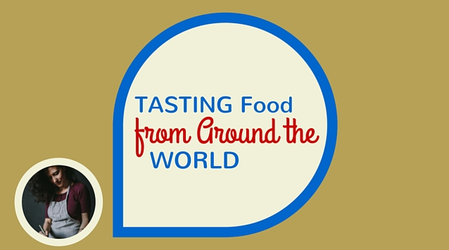 Ice Sanford of Foolproof Living on The Dinner Special podcast talking about Tasting Food from Around the World.
