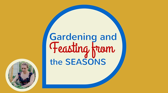 Danielle of Rooting the Sun on The Dinner Special podcast talking about gardening and feasting from the seasons.