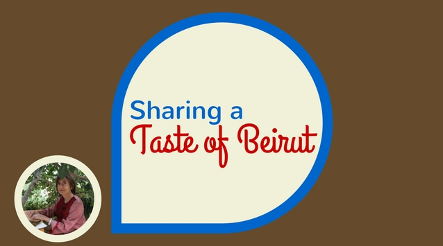 Joumana Accad of Taste of Beirut on The Dinner Special podcast sharing a taste of Beirut.
