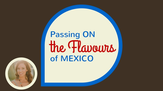 Yvette Marquez-Sharpnack of Muy Bueno on The Dinner Special podcast talking about passing on the flavours of Mexico.