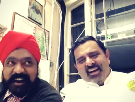 Tony Singh and Cyrus Todiwala of The Incredible Spice Men on The Dinner Special podcast talking about the idea behind The Incredible Spice Men.