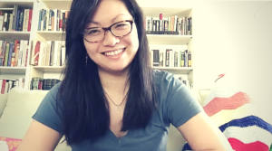 Stephanie Shih of Desserts for Breakfast on The Dinner Special podcast talking about how to keep posted with her.