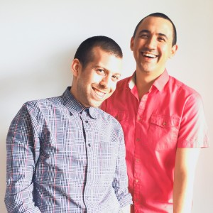 Adrian Harris and Jeremy Inglett of The Food Gays on The Dinner Special podcast
