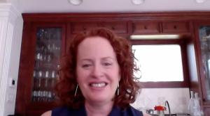 Liz Rueven of Kosher Like Me on The Dinner Special podcast.