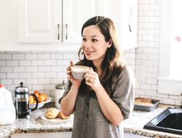 Hannah Messinger of Nothing but Delicious on The Dinner Special podcast talking about how to keep posted with her.