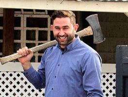 Dan Whalen of The Food in my Beard on The Dinner Special podcast feature pic